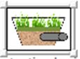image for biofiltration (bioretention with underdrain) used in MIDS calculator
