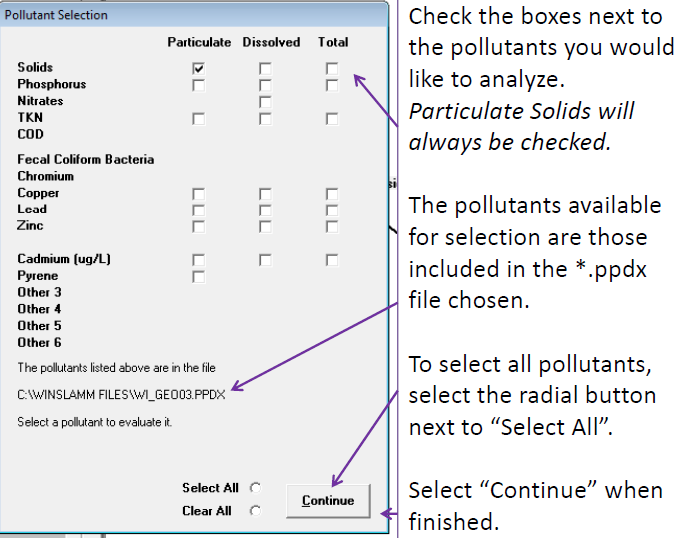 File:WinSLAMM pollutant selection window.png