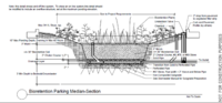 image of bioretention parking median section