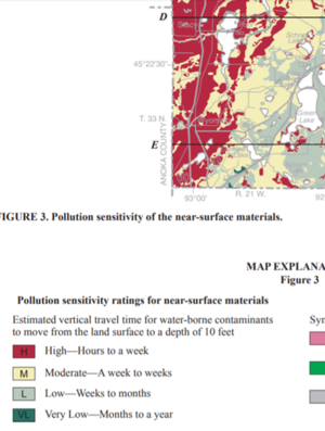 screen shot pollution sensitivity map