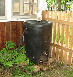 Residential rain barrel - Stillwater, MN
