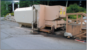 dumpster management at psh
