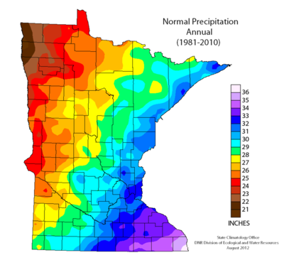 Precipitation Minnesota Stormwater Manual