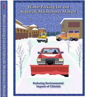 image of winter maintenance manual