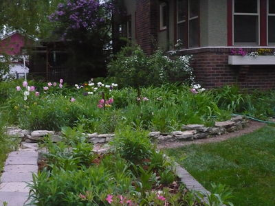perennial garden photo