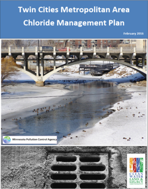 image of cover for Chloride Management Plan