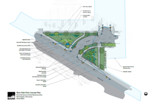 schematic for Riverside project