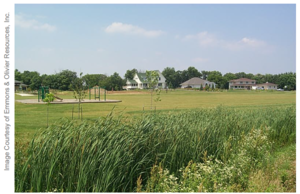 This image shows Field's of St. Croix Conservation Development, Lake Elmo, MN.